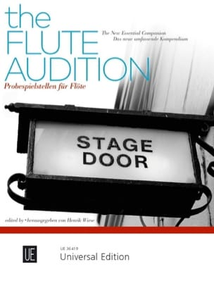 - The Flute Audition - Flûte - Partition - di-arezzo.fr