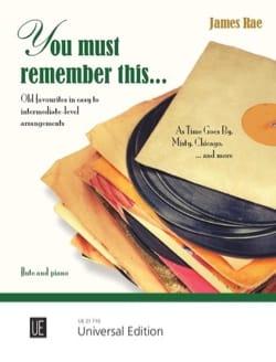 You must remember this.. - Flûte et Piano - laflutedepan.com