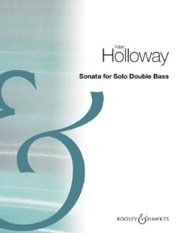 Robin Holloway - Sonata - Double Bass Solo - Sheet Music - di-arezzo.co.uk