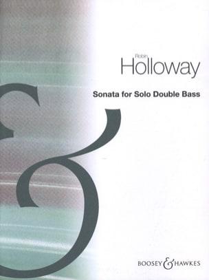 Robin Holloway - Sonata - Double Bass Solo - Partition - di-arezzo.co.uk
