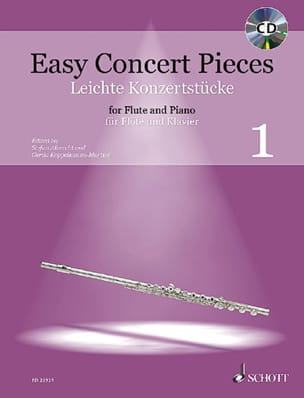 Easy Concert Pieces Vol. 1 Partition Flûte traversière - laflutedepan
