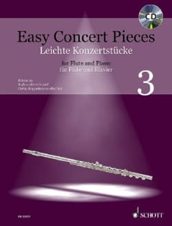Easy Concert Pieces Vol. 3 Partition Flûte traversière - laflutedepan
