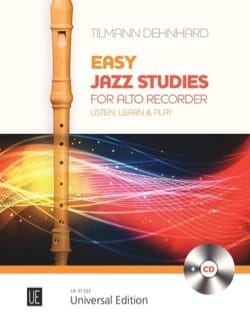 Easy Jazzy Studies - Flûte à Bec Alto - laflutedepan.com