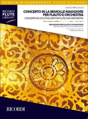 Giulio Briccialdi - Concerto en Lab Majeur - Flûte et Piano - Partition - di-arezzo.fr