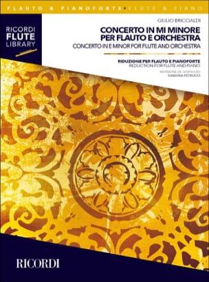 Concerto en mi mineur Giulio Briccialdi Partition laflutedepan