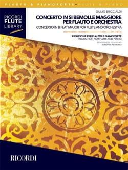 Concerto en Sib Majeur - Flûte et Piano Giulio Briccialdi laflutedepan
