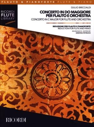 Concerto en Do Majeur - Flûte et Piano Giulio Briccialdi laflutedepan