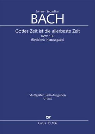 BACH - Zeit Gottes ist die gobeste Zeit BWV 106 - Sheet Music - di-arezzo.co.uk