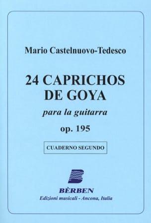 Mario Castelnuovo-Tedesco - 24 Caprichos de Goya - 2 - Partition - di-arezzo.fr