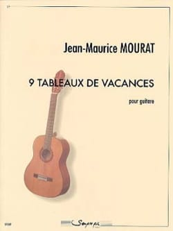 Jean-Maurice Mourat - 9 holiday charts - Sheet Music - di-arezzo.co.uk