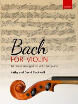 BACH - Bach for Violin - Partition - di-arezzo.fr