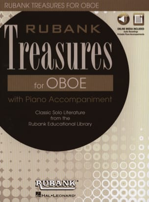 - Rubank Treasures for Oboe - Hautbois et Piano - Partition - di-arezzo.fr