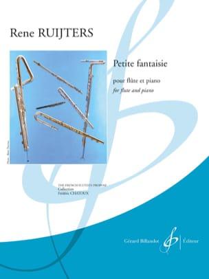Petite Fantaisie - Flûte et Piano - René Ruijters - laflutedepan.com