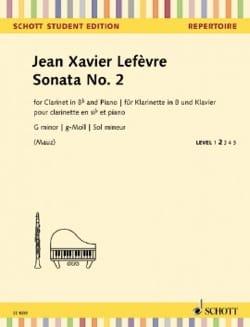 Sonate n° 2 - Clarinette et Piano - laflutedepan.com