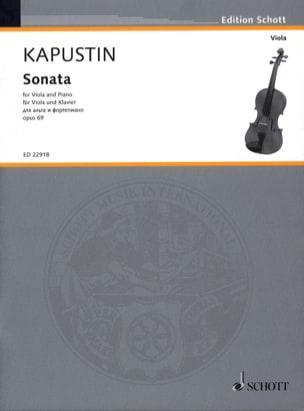 Nikolai Kapustin - Sonate - Alto et Piano - Partition - di-arezzo.fr