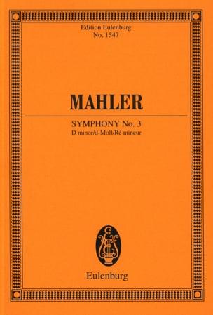 Symphonie n° 3 - Conducteur MAHLER Partition laflutedepan