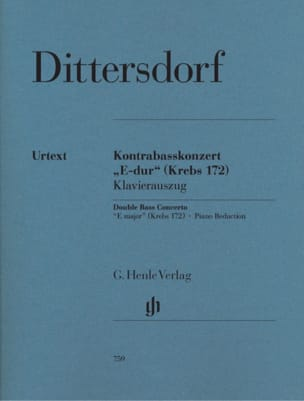 Concerto Mi Majeur Carl Ditters Von Dittersdorf Partition laflutedepan