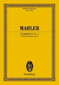Symphonie n° 2 - Conducteur MAHLER Partition laflutedepan