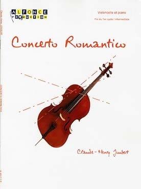 Concerto Romantico Claude-Henry Joubert Partition laflutedepan