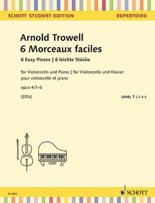 Arnold Trowell - 6 piezas fáciles, op. 4 - Cello y Piano - Partition - di-arezzo.es