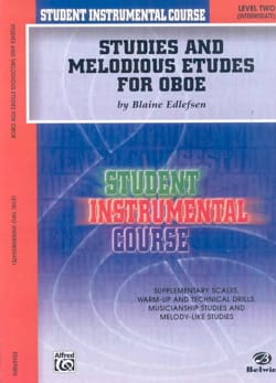 Edlefsen Blaine - Student Instrumental Course: Studies and Melodious Studies for Oboe, Level II - Sheet Music - di-arezzo.co.uk
