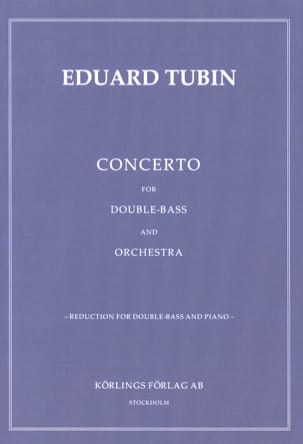 Concerto for Double-Bass and orchestra Eduard Tubin laflutedepan