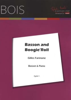 Basson and Boogie'Roll Gilles Farinone Partition Basson - laflutedepan