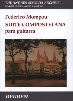 Fréderic Mompou - Compostelana Suite - Sheet Music - di-arezzo.co.uk