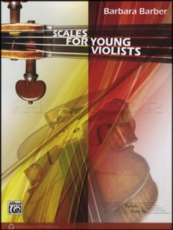 Barbara Barber - Scales for Young Violists - Partition - di-arezzo.fr