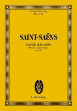 Camille Saint-Saëns - Danse Macabre - Conducteur - Partition - di-arezzo.fr