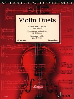 - Violin Duets - Intermediate - Sheet Music - di-arezzo.com