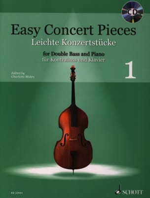 - Easy Concert Pieces 1 - Contrebasse et Piano - Partition - di-arezzo.fr
