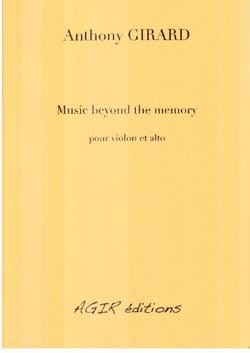 Anthony Girard - Music beyond the memory - Sheet Music - di-arezzo.com