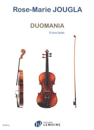 Rose-Marie Jougla - Duomania - 2 Violons - Partition - di-arezzo.fr