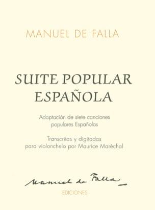 Suite Populaire espagnole DE FALLA Partition laflutedepan