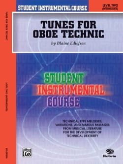 Student Instrumental Course : Tunes for Oboe Technic, Level II - laflutedepan.com
