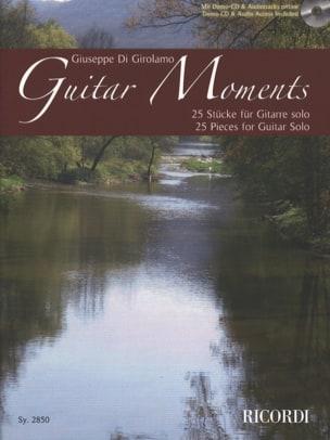 Guitar Moments - Guitare Girolamo Giuseppe Di Partition laflutedepan