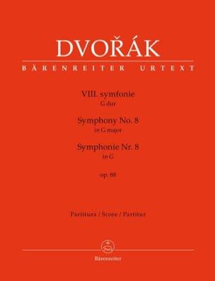 DVORAK - Symphony No. 8 - Conductor - Sheet Music - di-arezzo.com