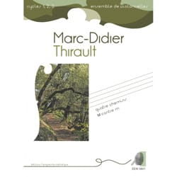 Marc-Didier Thirault - 4 Chemins - M contre m - Partition - di-arezzo.fr