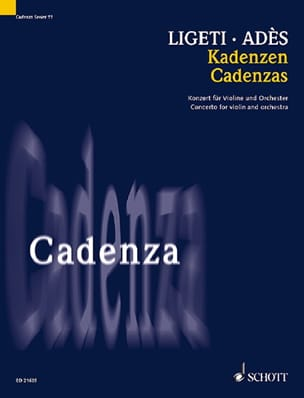 Thomas Ades - cadences - Sheet Music - di-arezzo.com