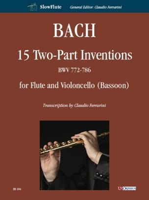 BACH - 15 Inventions to 2 Voices - Sheet Music - di-arezzo.com