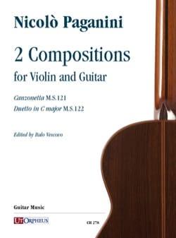 Niccolò Paganini - 2 Compositions - Partition - di-arezzo.fr