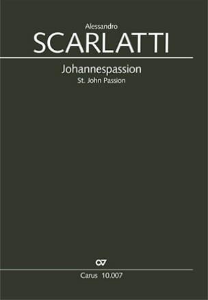 Passion selon Saint-Jean Alessandro Scarlatti Partition laflutedepan