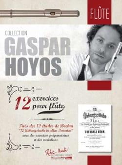 12 Exercices pour Flûte Gaspar Hoyos Partition laflutedepan