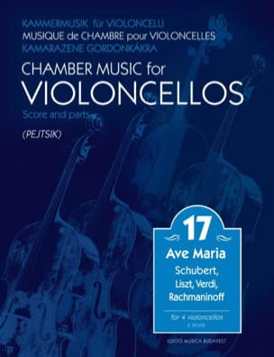 - Chamber Music for Cellos - Volume 17 - Partition - di-arezzo.fr
