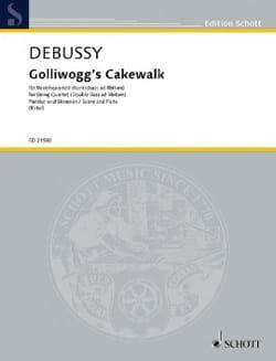 Golliwogg's Cakewalk - Quatuor à Cordes DEBUSSY Partition laflutedepan