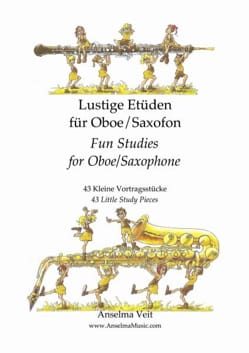 Veit Anselma - Lustige Etüden - Oboe - Sheet Music - di-arezzo.co.uk