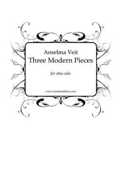 3 Modern Pieces - Hautbois Solo Anselma Veit Partition laflutedepan
