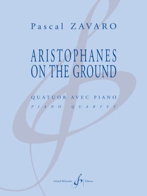 Pascal Zavaro - Aristophanes on the Ground - Sheet Music - di-arezzo.com