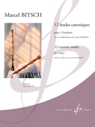 Marcel Bitsch - 12 Canonical Studies - Sheet Music - di-arezzo.com